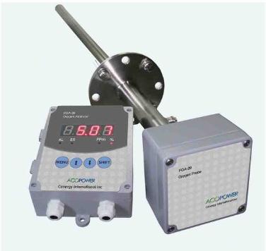 分体式烟道氧分析仪